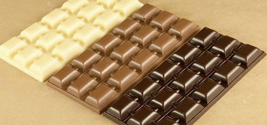 tre cioccolate