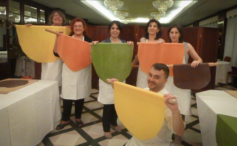 Il corso di sfoglina: le nostre sfoglie colorate