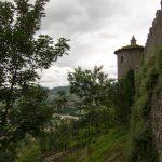 Le mura ed una torretta