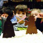 Un giovane Jedi e la sua torta ;)